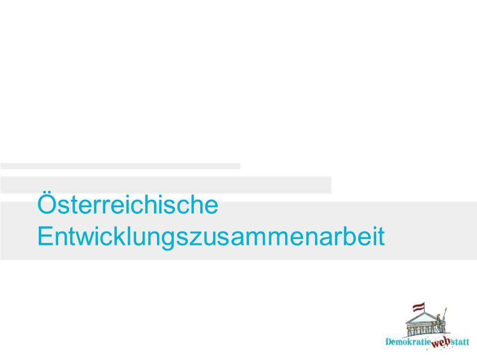Österreichische Entwicklungszusammenarbeit