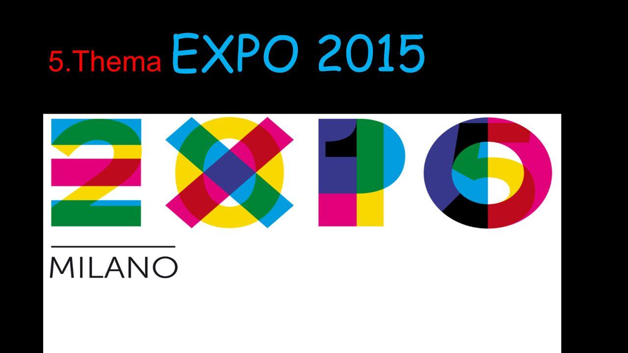 5.Thema EXPO 2015