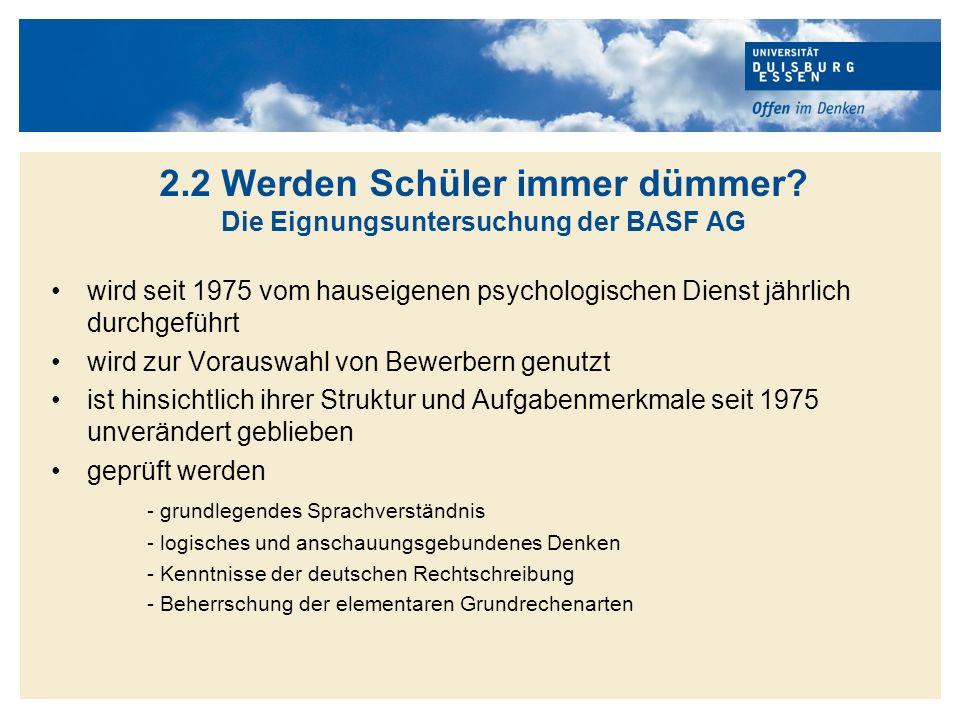 Titelmasterformat durch Klicken bearbeiten Beispiele für Rechenaufgaben aus dem BASF-Test Quelle: BASF AG 2010, S.