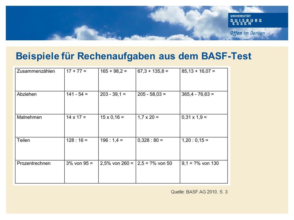Titelmasterformat durch Klicken bearbeiten Quelle: BASF AG 2010, S.