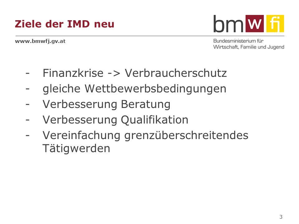 www.bmwfj.gv.at Kapitel IV – Freier Dienstleistungsverkehr und Niederlassungsfreiheit Art 5 und 6 1.bisher existierendes Notifikationssystem – mit Nachteilen z.B.