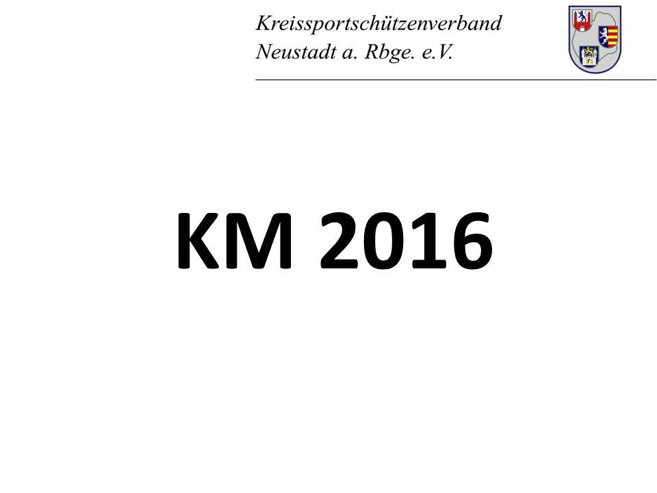 1.Rückblick auf die KM 2015 2. Was ändert sich für die KM 2016.