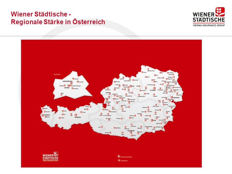Wiener Städtische - Regionale Stärke in Österreich