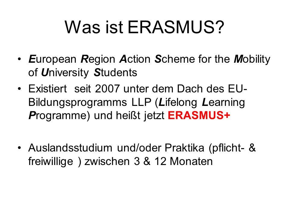 Was ist ERASMUS.
