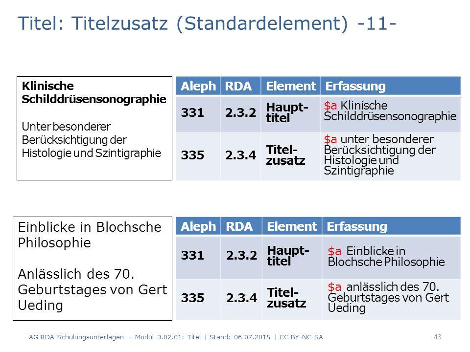 Titel: Titelzusatz (Standardelement) -11- Einblicke in Blochsche Philosophie Anlässlich des 70. Geburtstages von Gert Ueding AlephRDAElementErfassung