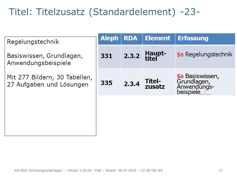 Titel: Titelzusatz (Standardelement) -23- Regelungstechnik Basiswissen, Grundlagen, Anwendungsbeispiele Mit 277 Bildern, 30 Tabellen, 27 Aufgaben und