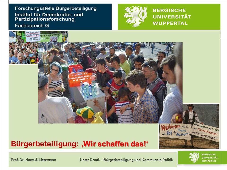 """Dies ist ein Mustertitel Prof.Dr. Maria Mustermann 4 von 23 Bürgerbeteiligung """"strukturiert Prof."""