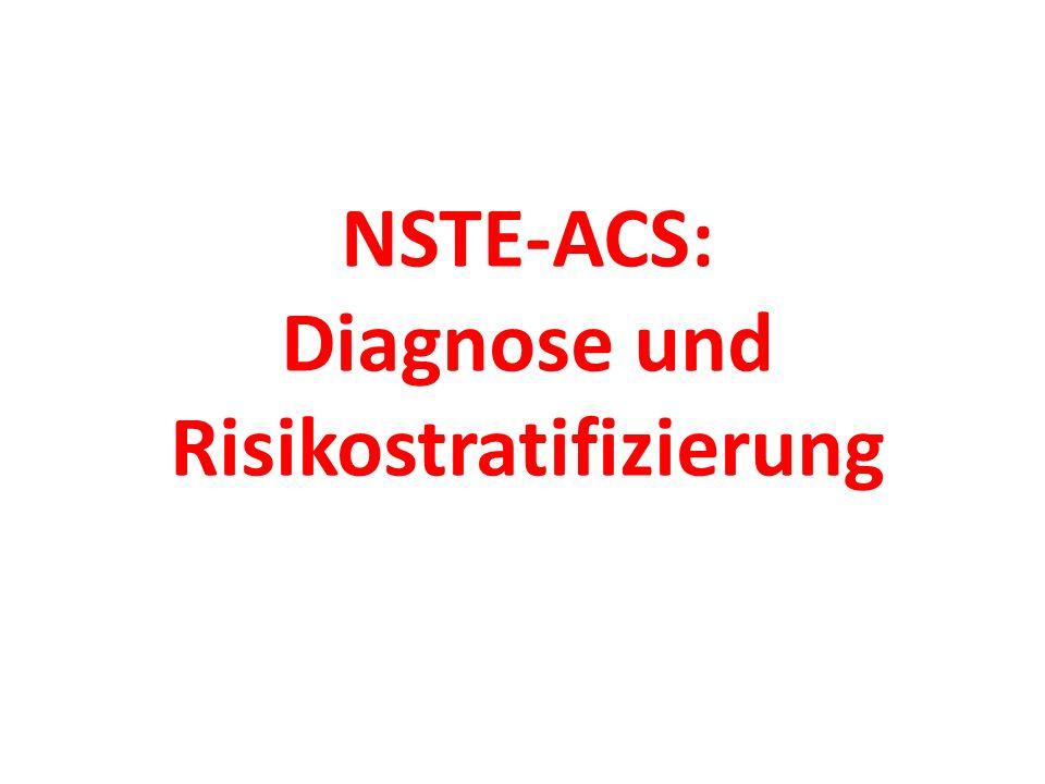 NSTE-ACS: Diagnose und Risikostratifizierung