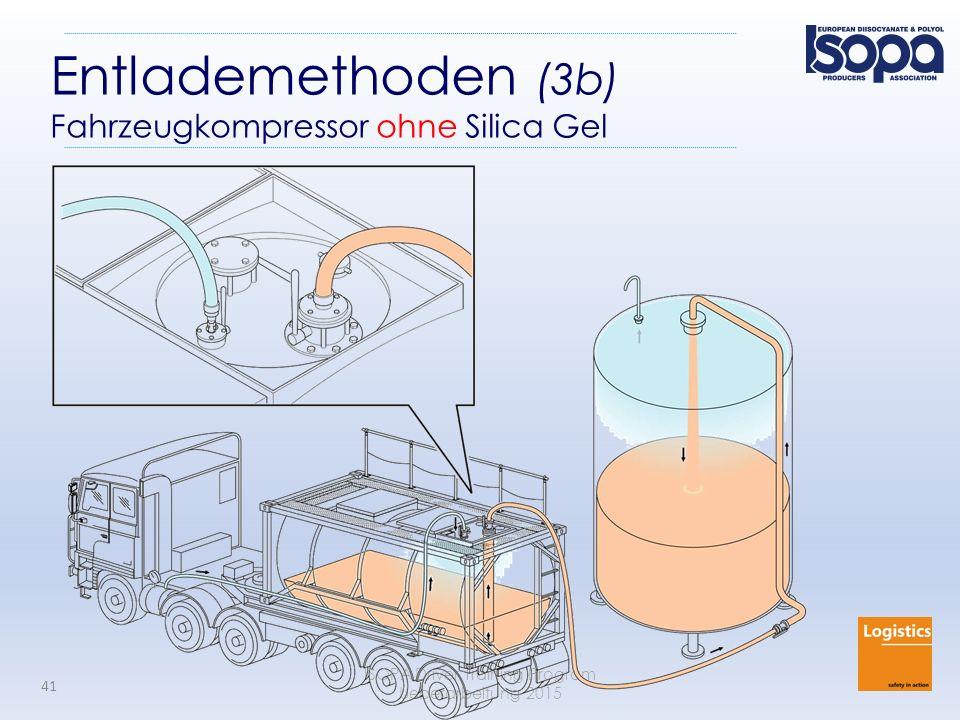 ISOPA Driver Training Program Ueberarbeitung 2015 41 Entlademethoden (3b) Fahrzeugkompressor ohne Silica Gel