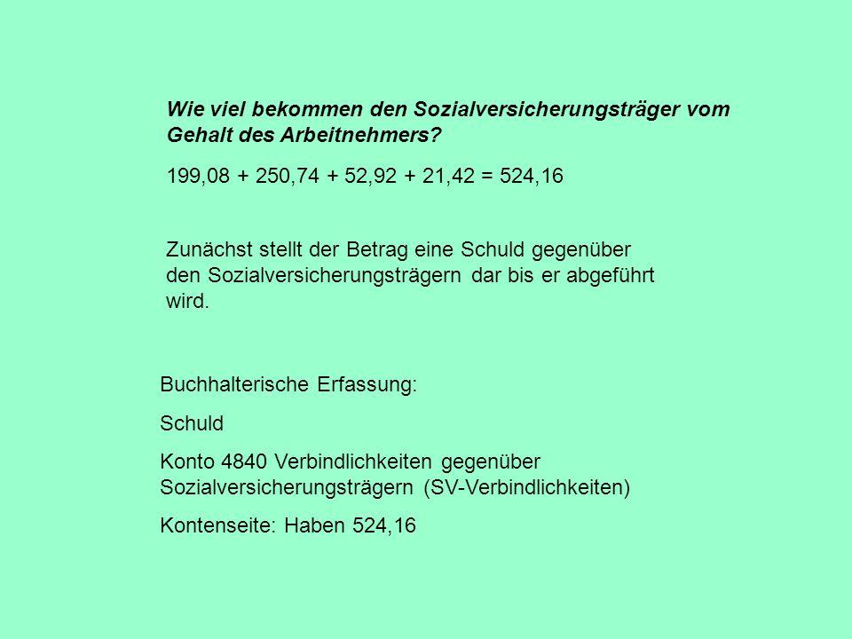 Zeitliche Ablauf der Buchungen 1.