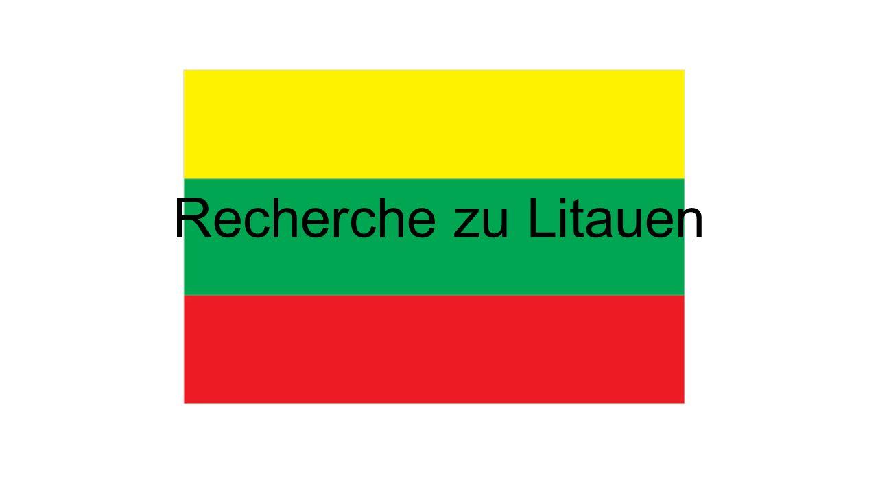 Recherche zu Litauen