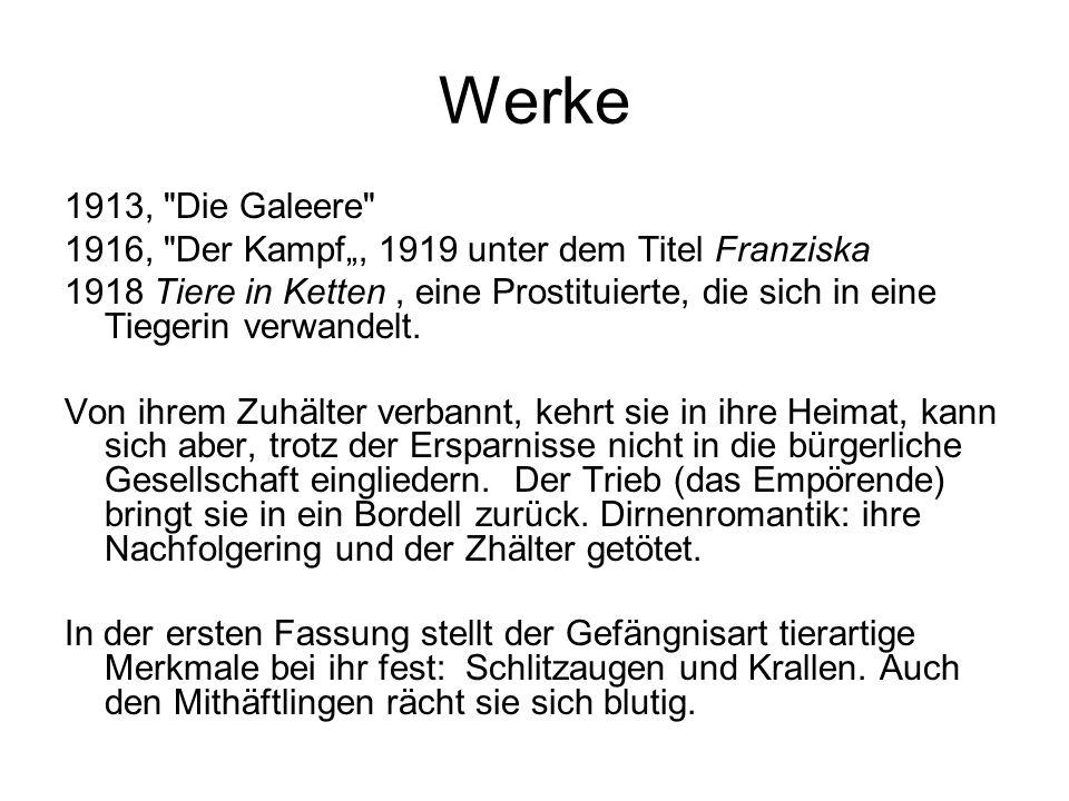 Werke 1913,