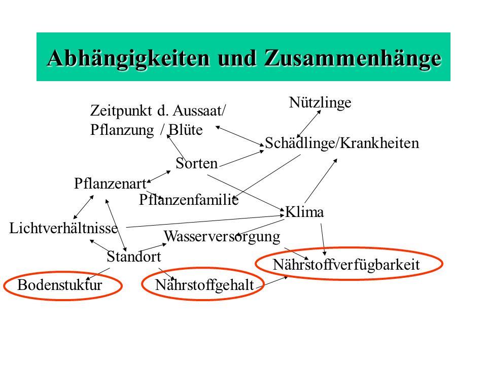 SLFA-Neustadt, Jochen Kreiselmaier Bei Anbau und Bodenpflege unbedingt die Eigenarten der unterschiedlichen Bodenarten berücksichtigen Unterschiedliche Bodenarten