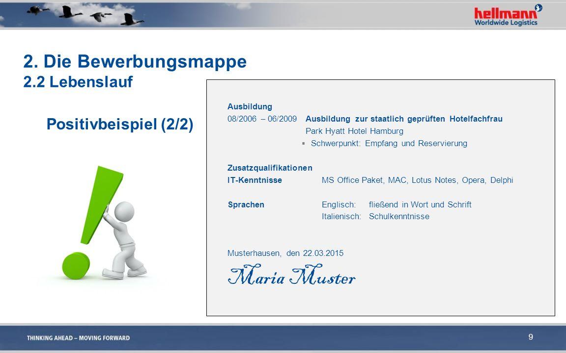 Ausbildung 08/2006 – 06/2009 Ausbildung zur staatlich geprüften Hotelfachfrau Park Hyatt Hotel Hamburg  Schwerpunkt: Empfang und Reservierung Zusatzq