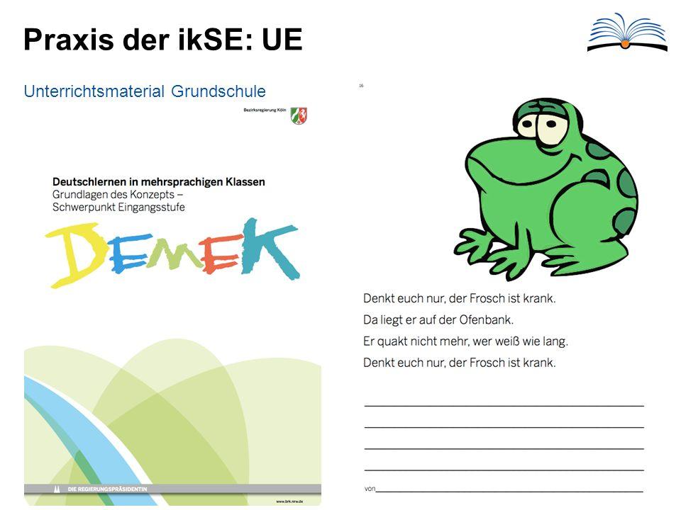 Praxis der ikSE: UE Unterrichtsmaterial Grundschule