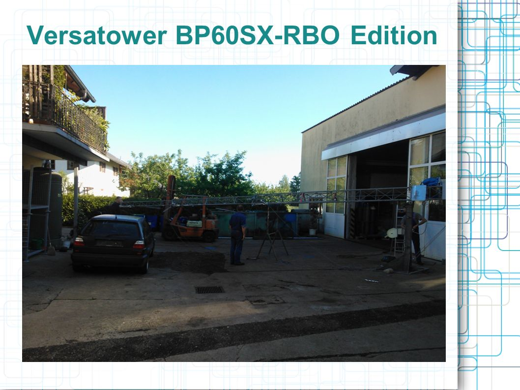 Versatower BP60SX-RBO Edition...
