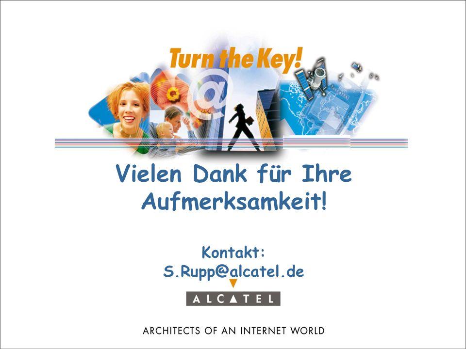 © Alcatel Paris 2001, S. Rupp, 18.09.2001 page n° 28 dik2001_sr_1809.ppt Herausforderungen  Neue Branche aus Medienwirtschaft, Consumer Elektronik, T