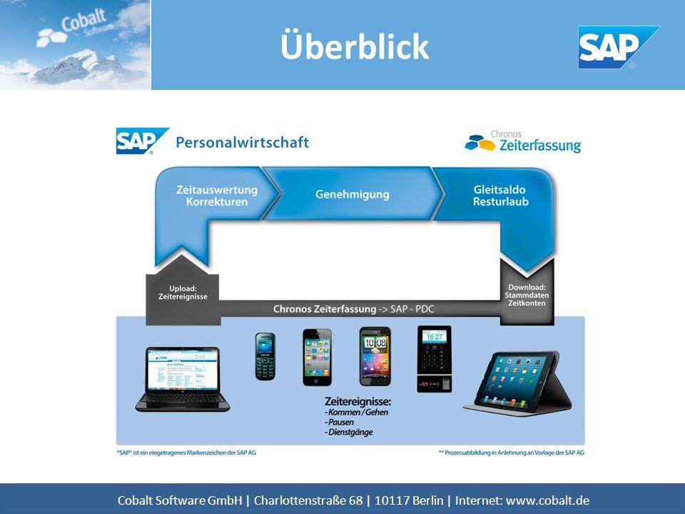 Überblick Cobalt Software GmbH | Charlottenstraße 68 | 10117 Berlin | Internet: www.cobalt.de