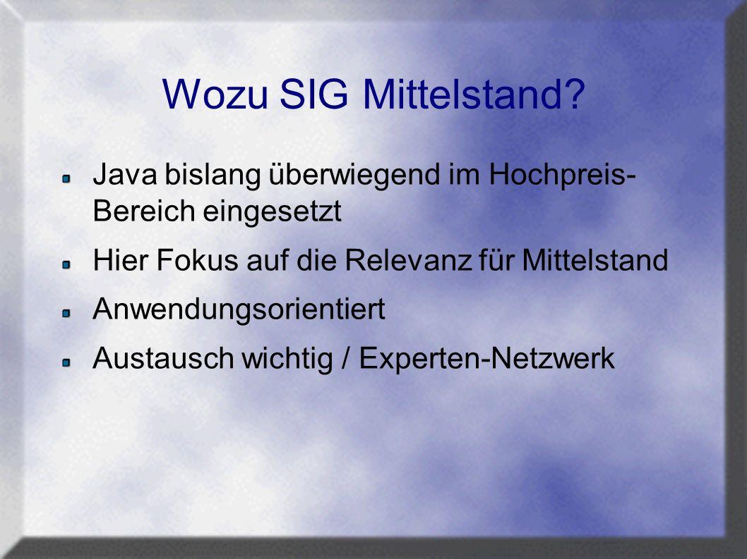 Wozu SIG Mittelstand.