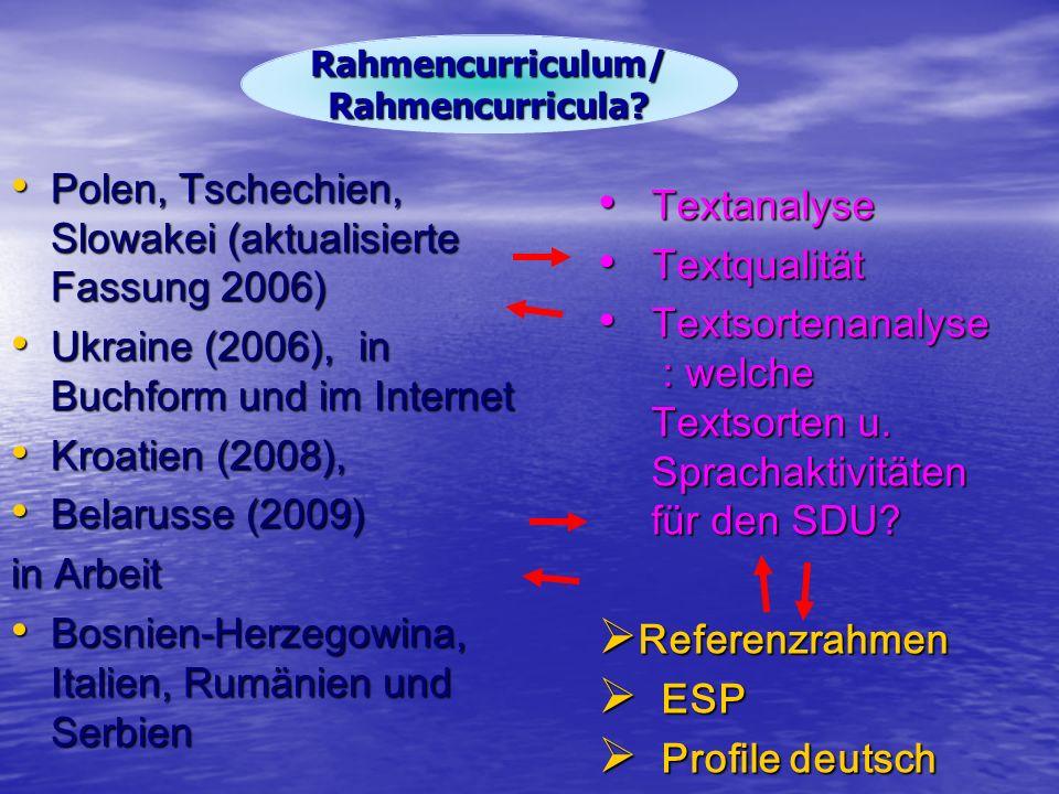 Polen, Tschechien, Slowakei (aktualisierte Fassung 2006) Polen, Tschechien, Slowakei (aktualisierte Fassung 2006) Ukraine (2006), in Buchform und im I