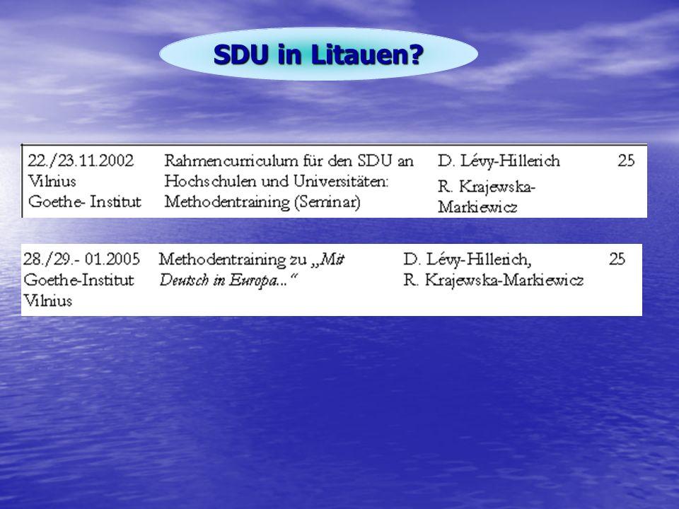 SDU in Litauen?