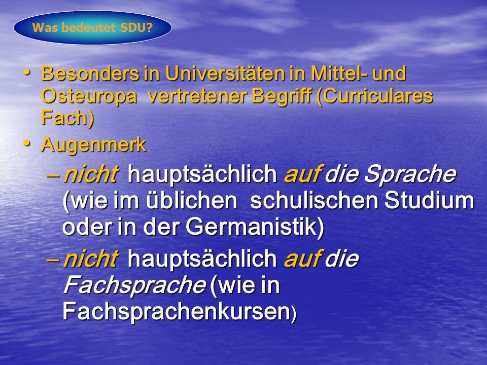 Rahmencurriculum/ Rahmencurricula?