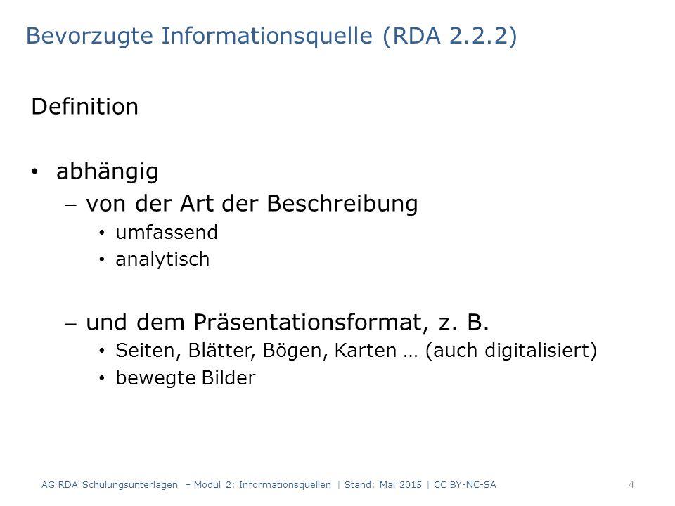 Definition abhängig von der Art der Beschreibung umfassend analytisch und dem Präsentationsformat, z.