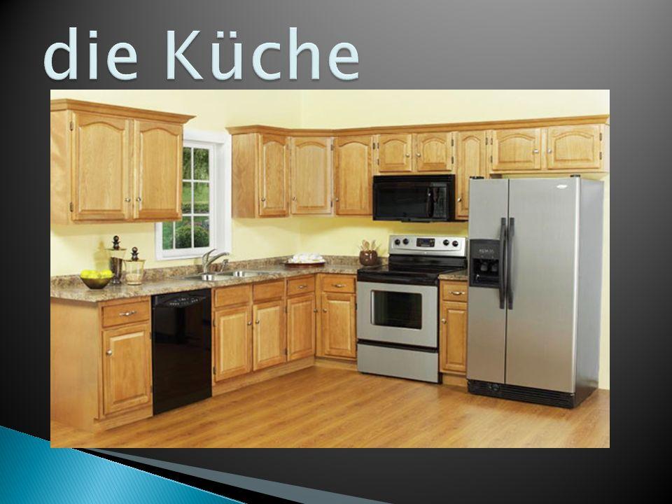  Ich mag die Küche nicht.Weiß ist langweilig.  Ich mag mein Schlafzimmer.