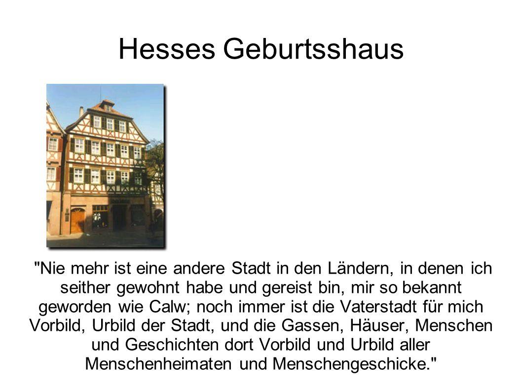Hesses Geburtsshaus