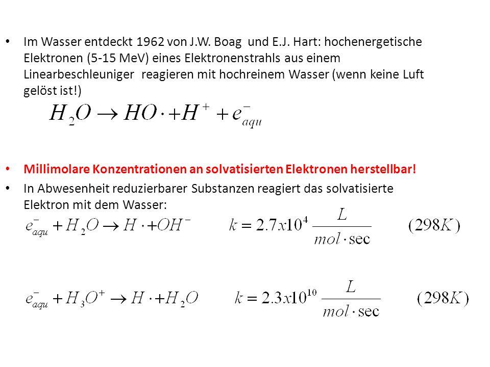 Verhalten gegenüber Liganden-Substitution: Co(III) inert, Co(II) labil, Cr(III) inert, Cr(II) labil 1.Annahme: outer-sphere (?)