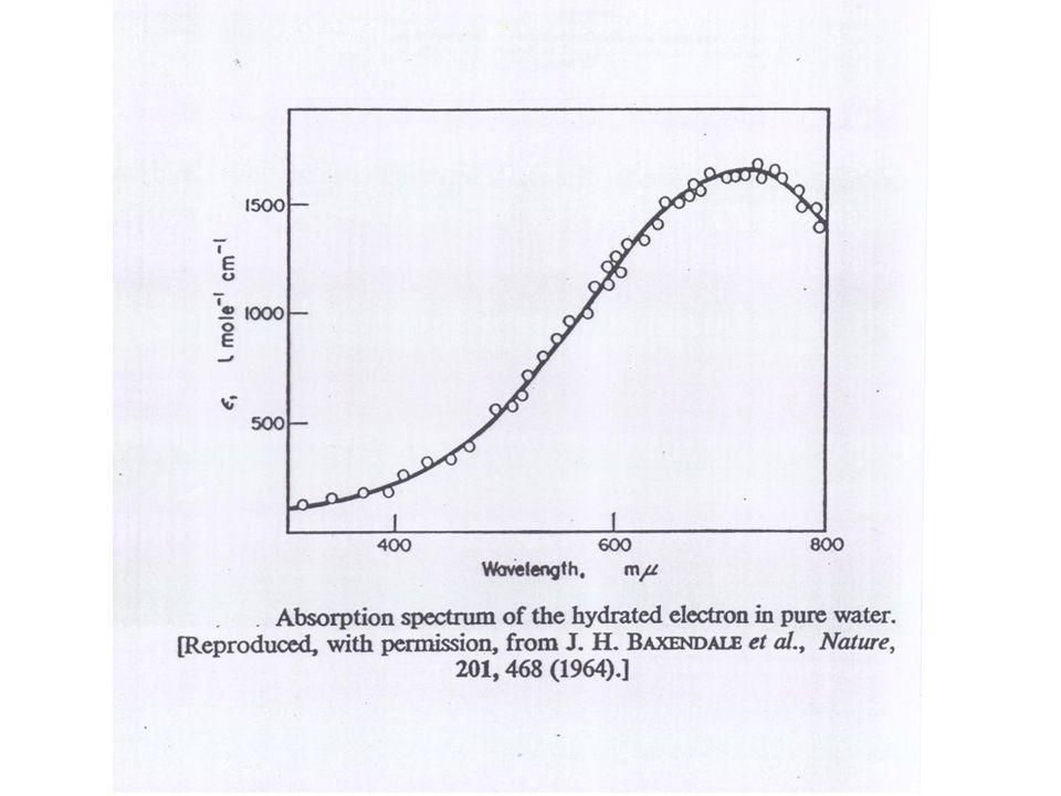 Struktur des hydratisierten Elektrons Proc Natl Acad Sci U S A.