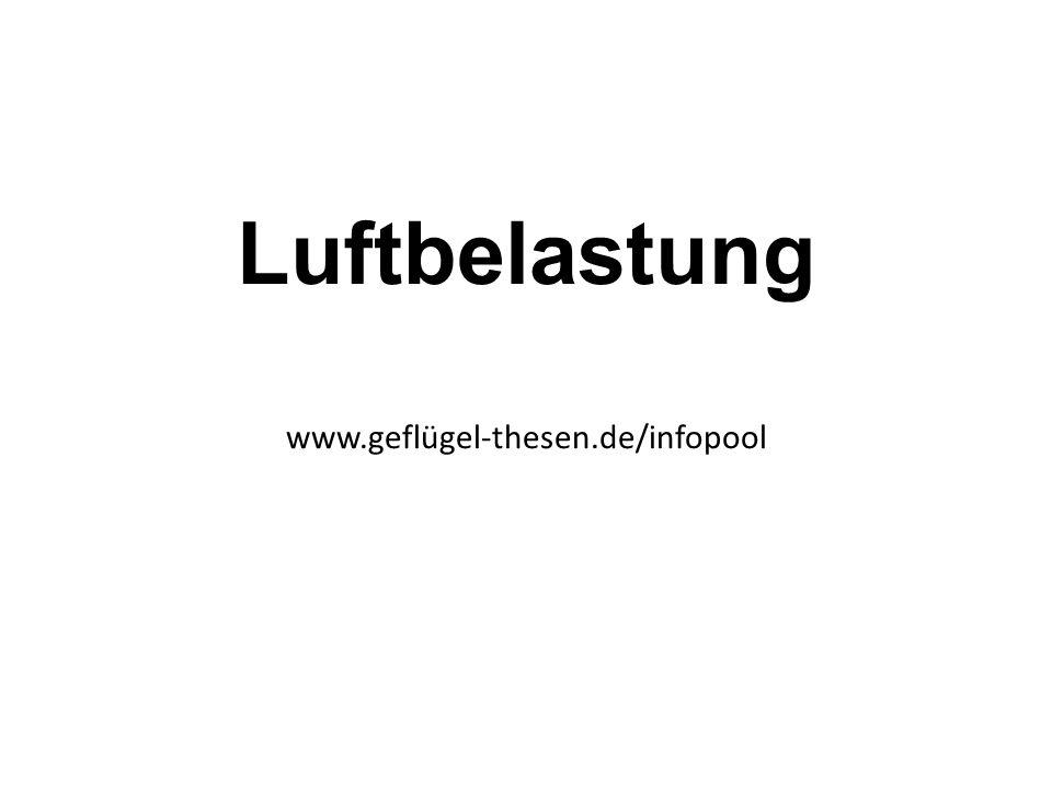 Luftbelastung www.geflügel-thesen.de/infopool