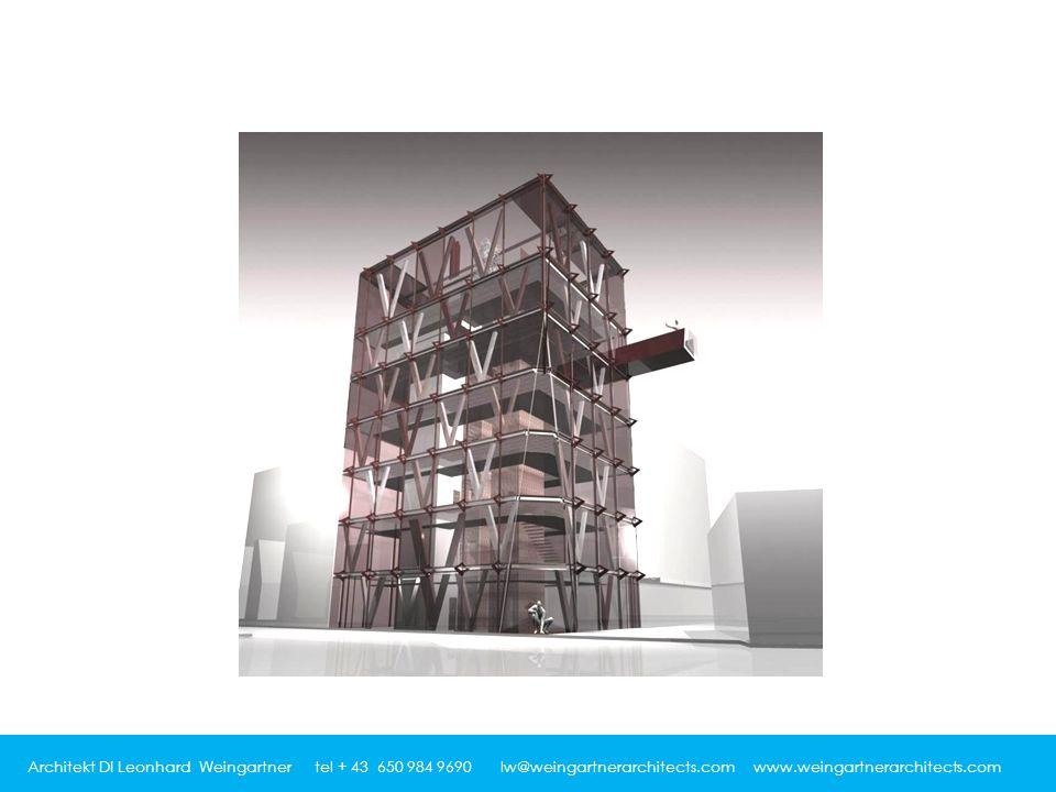 Architekt DI Leonhard Weingartner tel + 43 650 984 9690 lw@weingartnerarchitects.com www.weingartnerarchitects.com