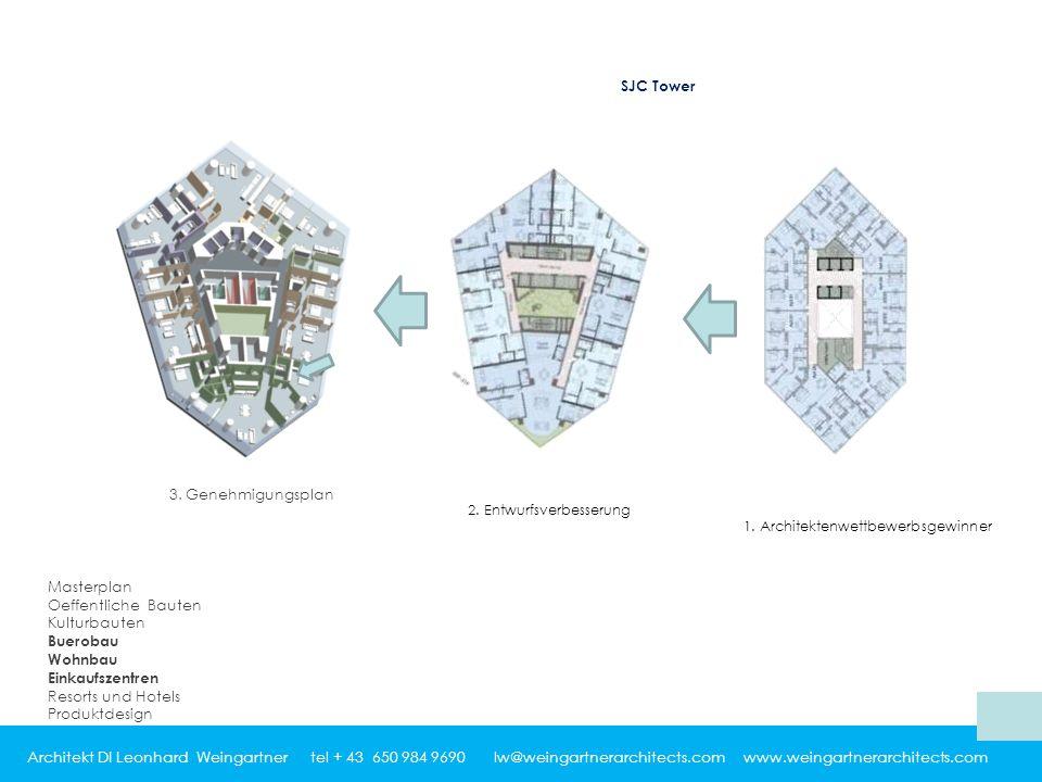 Architekt DI Leonhard Weingartner tel + 43 650 984 9690 lw@weingartnerarchitects.com www.weingartnerarchitects.com 3.
