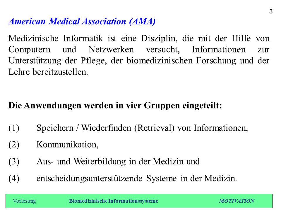 Topics der Medizinischen Informatik - Medizinische Terminologie.