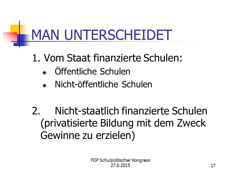 MAN UNTERSCHEIDET 1.