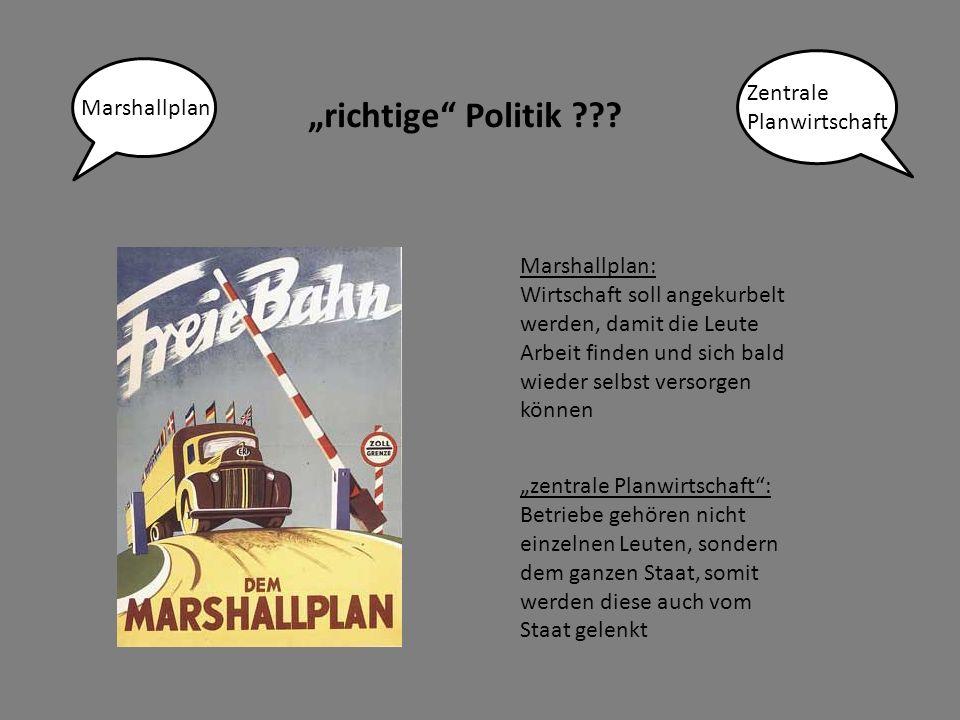 """richtige Politik ??."