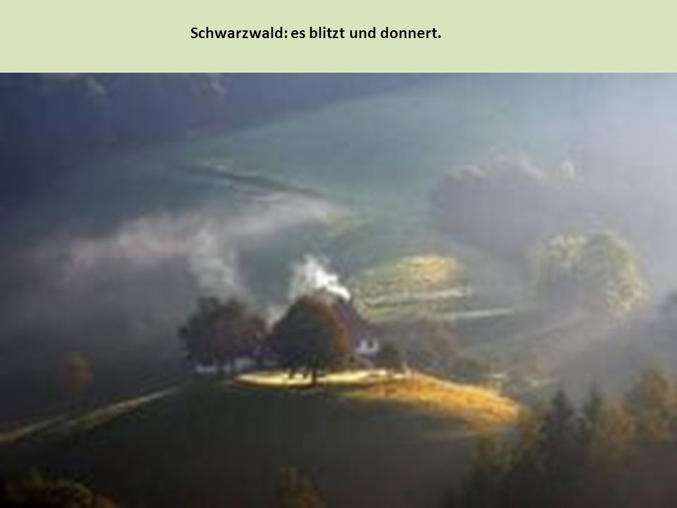 Для жителей Шварцвальда характерны самобытные традиционные наряды, особая местная архитектура и кухня.