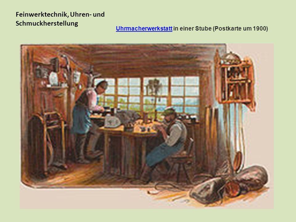 In den schwer zugänglichen Schwarzwaldtälern setzte die Industrialisierung erst spät ein.