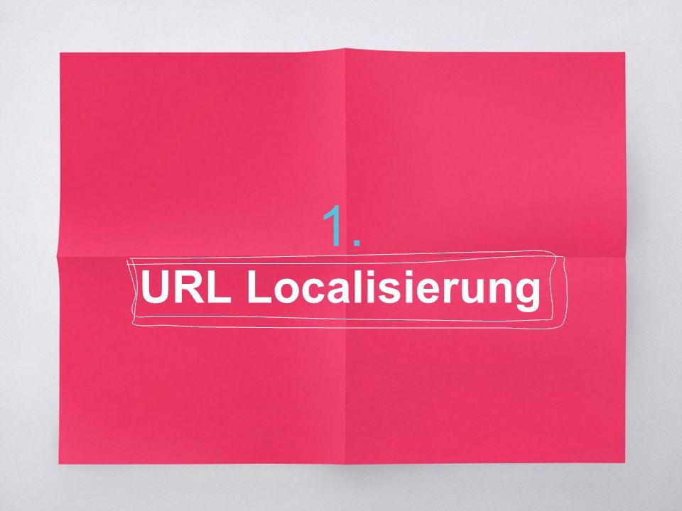 1. URL Localisierung
