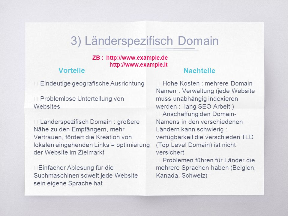 2.2. Mehrsprachige Website Struktur