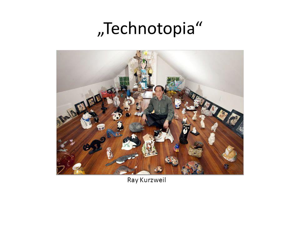 "Ray Kurzweil ""Technotopia"""