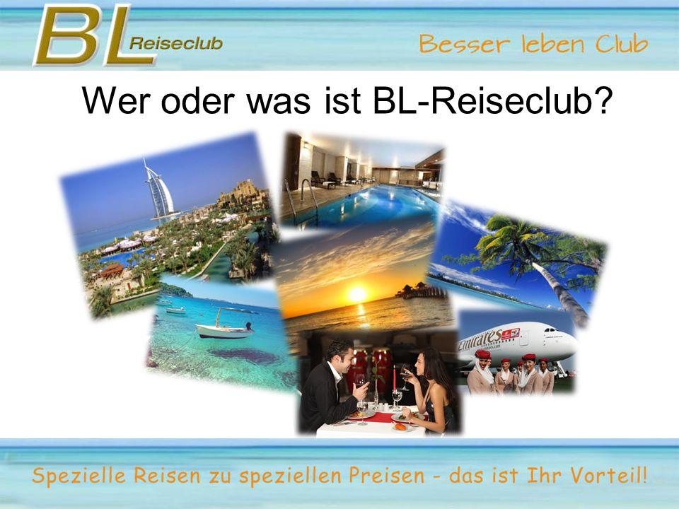 Wer oder was ist BL-Reiseclub?
