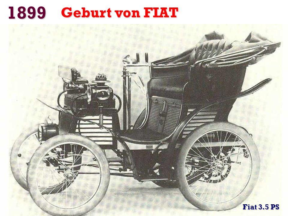 1899 Jamais Contente (das Elektroauto) erster Rekord über 100 km / h Camille Jenatzy erreichte 105,88 km / h