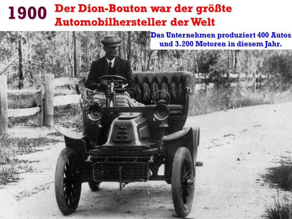 1899 Die erste Tour de France mit Autos Auto Amédée Bollée