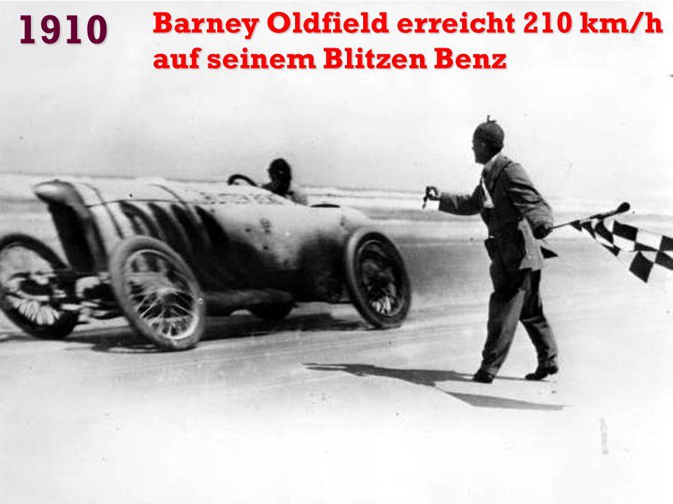 1908 Ford startete sein Modell -T
