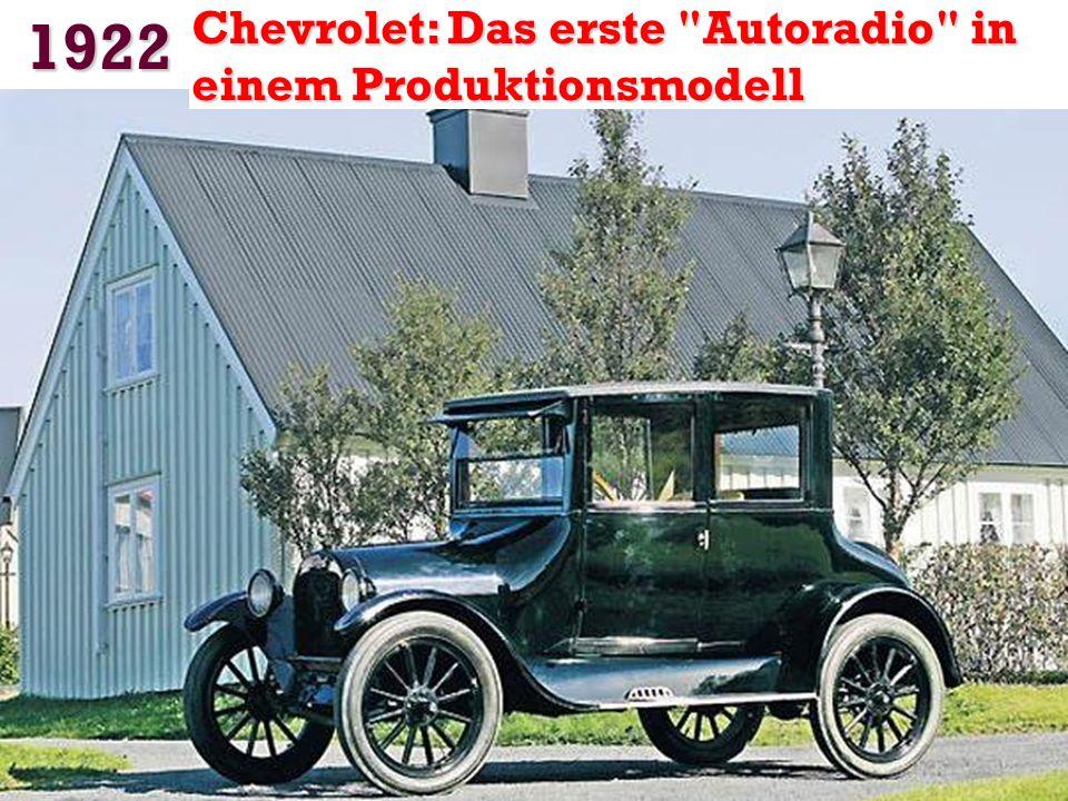 1922 Der erste Führerschein