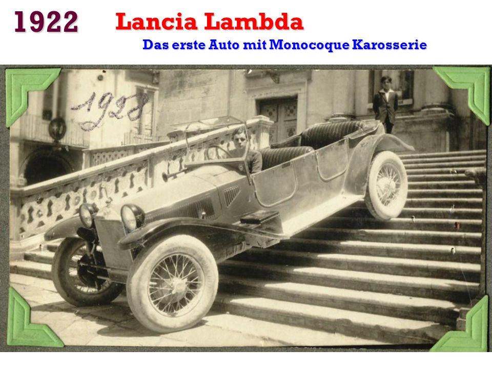 1922 Chevrolet: Das erste