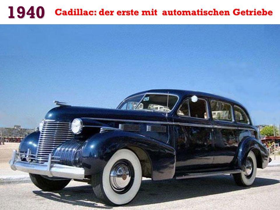 1939 Das erste Auto mit Klimaanlage: Der Packard Super Eight