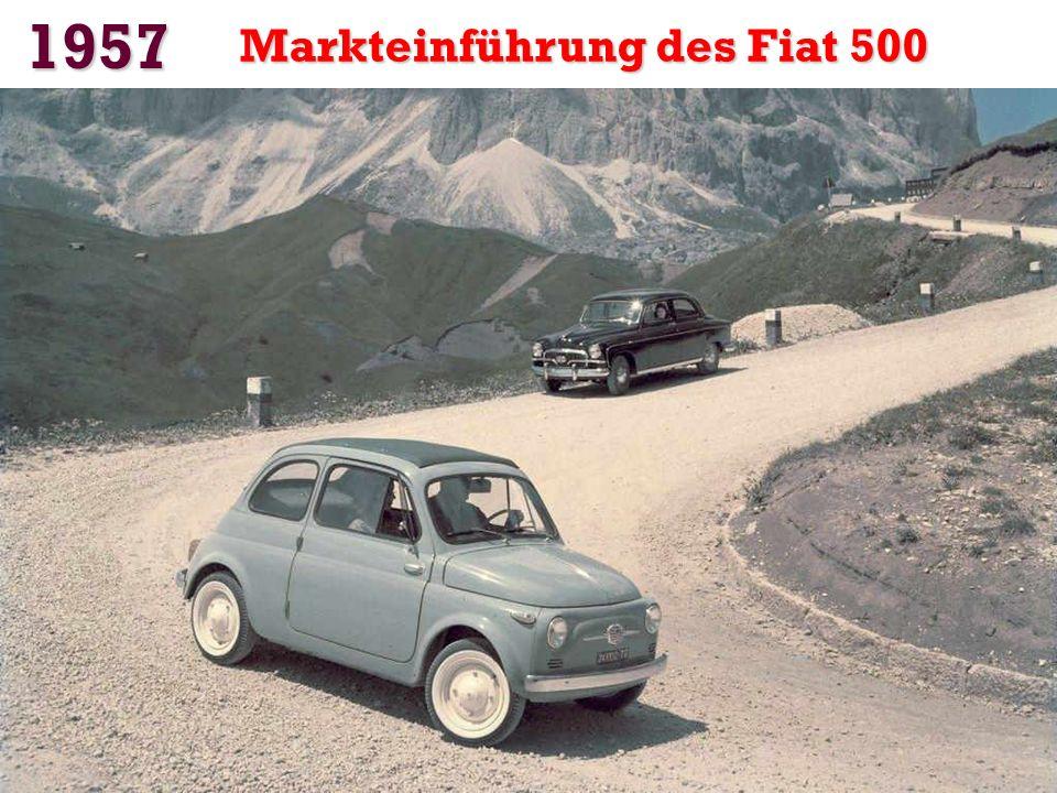 1955 Citroën präsentiert den DS